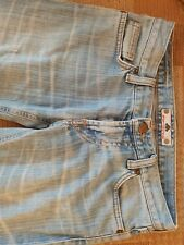 Fornarina Ladies Jeans Size: 26 Style: Bjork Straight Cut Faded Blue