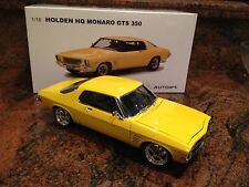 1:18 Modified Biante - 1972 Holden HQ Monaro GTS 350 Coupe - Yellow Dolly