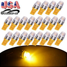 20x Amber Yellow High Power T10 T15 5730 LED Interior Light Bulb W5W 192 168 194