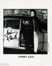 REPRINT - JOHNNY CASH autographed signed photo copy reprint
