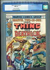 Marvel Two-In-One #27 CGC 9.4 (1977) Thing & Deathlok Fantastic Four Nick Fury