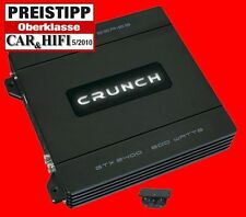 Crunch gtx2400/2 Canal finale/2x 220w Max/1x 800w Max/Bass phase finale