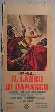 Locandina IL LADRO DI DAMASCO 1964 TONY RUSSEL FERRUCCIO AMENDOLA LUCIANA GILLI