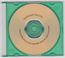 Hypnotherapy CD Secret Path to Success Future Goal Therapy HIDDEN KEY hypnotisis