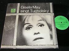 GISELA MAY singt Tucholsky / West DEUTSCHE GRAMMOPHON Literatur LP 1967