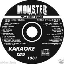 Karaoke Monster Hits Cd+G Male Rock Songs #1081