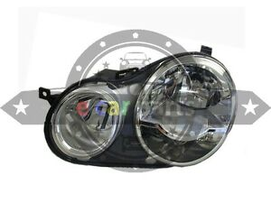 VOLKSWAGEN POLO 9N HEAD LIGHT LEFT HAND SIDE 8/2002 -10/2005