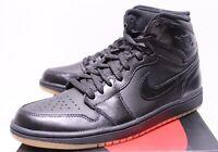Air Jordan Retro 1 Black Gum Light Brown Sneakers Men's 7.5-14 555088-020 New