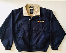 Mid-Ohio Sports Car Course Men's Medium Embroidered Devon & Jones Light Jacket