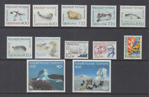 Greenland 1991 Complete Year Mint Never Hinged