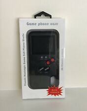 New listing Classic Nostalgic Game Cell Phone Shell iPhone X -Built-in 36 nostalgic games