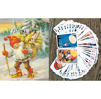 Playing Cards (Poker Deck 54 Cards) GNOMES Vintage Christams Card FlonzGift 006