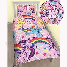 My Little Pony Mélange de Coton Housse Couette Simple 2 en 1 Designs