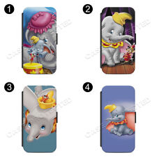 Dumbo Flip Wallet Phone Case Cover for All iPhone & Samsung
