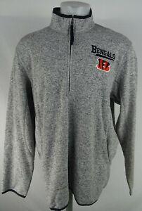 Cincinnati Bengals NFL G-III Men's Full-Zip Sweater Jacket