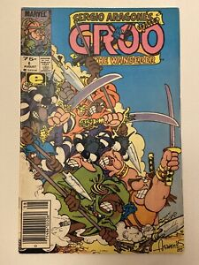 Groo the Wanderer Comic Book #6 Marvel 1985