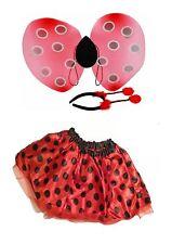 Lady Bird Costume Accessory & Tutu Fancy Dress Up Play Set