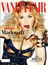VANITY FAIR Magazine ITALY ITALIA, Madonna NEW