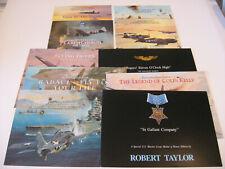 Ww Ii Pacific Aviation Art Advertising Flyers Artist Robert Taylor 10 Brochures