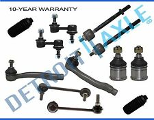 NEW 12pc Front & Rear Suspension Ball Joint Sway Tie Rod 1997-2001 Honda CR-V