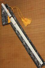 Hand Forged Straight Japanese Shiro Shirasaya Sword Sharp Ninjato + Bag