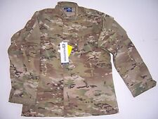 TACTICAL FATIGUE SHIRTS ACU CAMOUFLAGE ATACS SOLID MENS BDU COAT SHIRT PROPPER