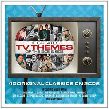 Greatest TV Themes Of The 50s & 60s VARIOUS ARTISTS Best Of MUSIC New 2 CD