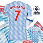 Manchester United Away Shirt 2021/22 Ronaldo 7 Premier League Arm Badge Man Utd