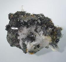 Delightful Gem EPIDOTE with Quartz Crystal Mineral Specimen,44g,A03