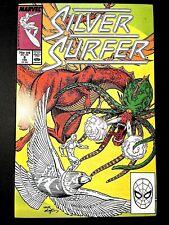 SILVER SURFER 8 (Marvel 2/88 9.6!! non-CGC) KREE EMPIRE!! SKRULLS! SHALLA-BAL!