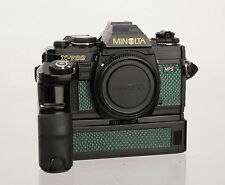 Minolta X700 W/ Motor Drive Replacement Cover - Laser Cut Recycled Leather