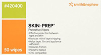 Smith and Nephew Skin-prep Protective Dressing Wipes- 5 Boxes