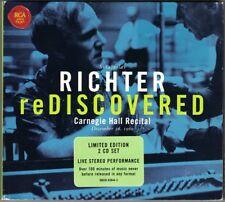 Sviatoslav Richter: rediscovered Carnegie Hall Recital 1960 2cd PROKOFIEV HAYDN