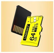 Tarjeta Memoria Micro SD  16GB 32GB 64GB 128GB  - Clase 10