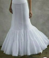 Davids Bridal petticoat / slip with tulle size 8 Mermaid or A-line Style 550