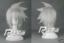 Soul Eater Evans Short Anime Costume Cosplay Wig (need styled by yourself) + Cap