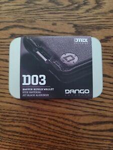 Dango Wallet D03 Dapper Bifold New Slim Minimalist Metal Rfid Blocking