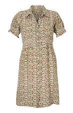 Knee Length Viscose Short Sleeve Shirt Dresses