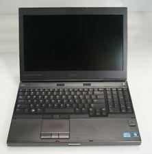 """Dell Precision M4600 15.6"""" Intel i7-2820QM 2.3GHz 16GB DDR3 1000M WIN7COA No HDD"""