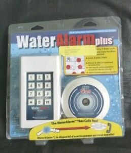 Control Products Water Alarm Plus WA-5001 Homesitter Protected Home NEW