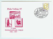 BRD FDC primero etiquetas carta 1997 Phila Tolbiac Zülpich mi.nr.1756
