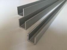 Aluminium U Channel Profile ANODIZED Various Sizes