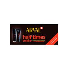 Arval Solaire Half Times Abbronzante Rapido 5 x 10 ml e Fissante Rapido 5 x 10ml
