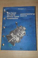 Rockwell Automotive Maintenance Manual No: 26A