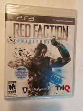 NEW Red Faction: Armageddon (Sony PlayStation 3, 2011) PS3 Factory Sealed