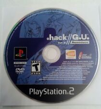 Dot Hack .hack//G.U.: Vol. 2 Reminisce Sony PlayStation 2 System Game Disc Only