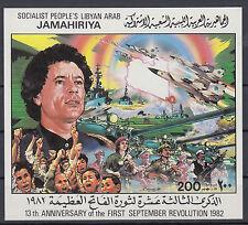 Libyen Block 67 postfrisch  13. Jahrestag der Septemberrevolution