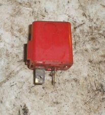 1981 Delorean DMC 12 OEM Red Relay Resistor