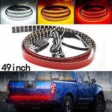 "49"" 324LED 6 Modes 3Row Reverse Truck Strip Tailgate Light Bar Brake Signal Tail"