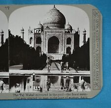 Stereoview Photo India Taj Mahal Finest Memorial To Love Of A Woman Realistic